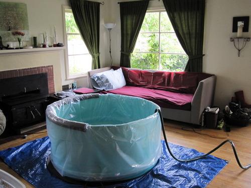 The labor tub